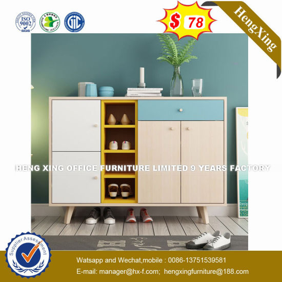 Eco-Friendly Materials Farmhouse Waterproof China Cabinet (HX-8NR0852) pictures & photos