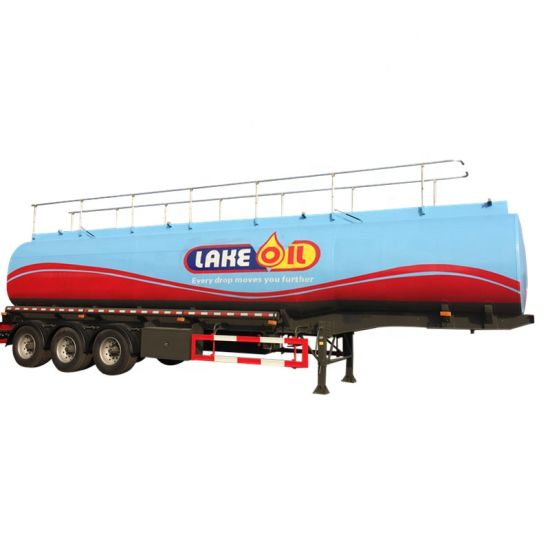 Clw Brand 3 Axles Carbon Steel Stainless Steel Aluminum 45000liters Crude Oil Fuel Tank Trailer