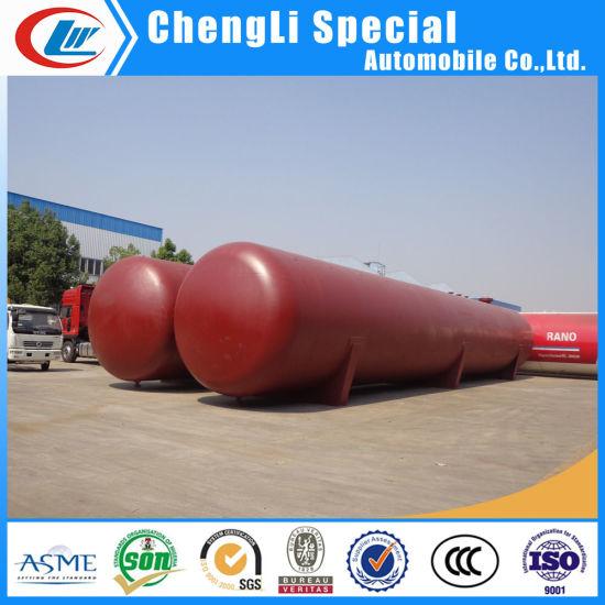 China ASME SA516 24mm 100ton 100mt 200m3 Horizontal LPG Storage Tank ...