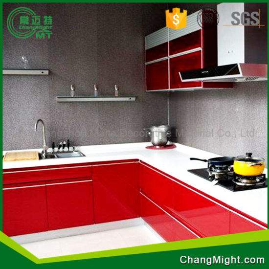 Plastic Laminated Sheet/ Flower Kitchen Laminate Sheets pictures & photos