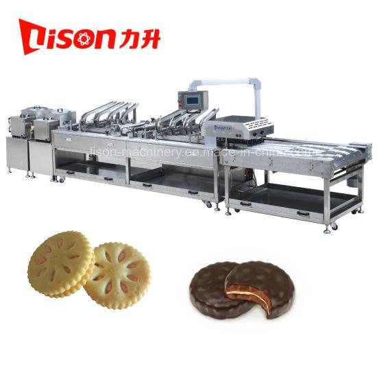 High Speed Automatic Biscuit Cream Sandwiching Machine