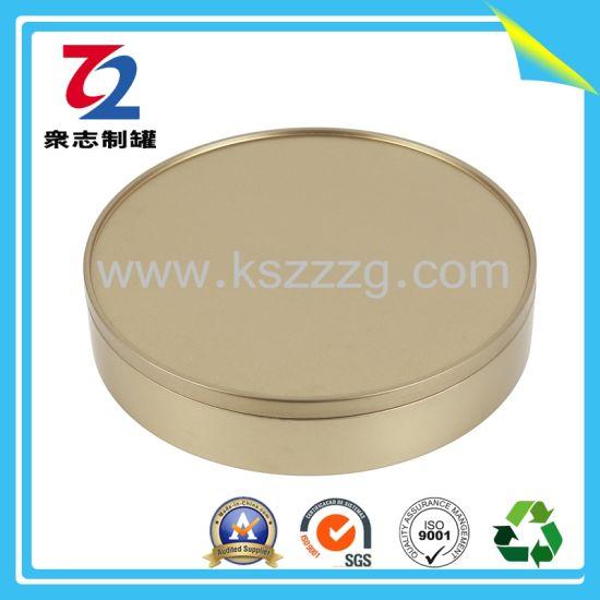 Customized Metal Round Chocolate Sweet Gift Tin Can/Tin Box