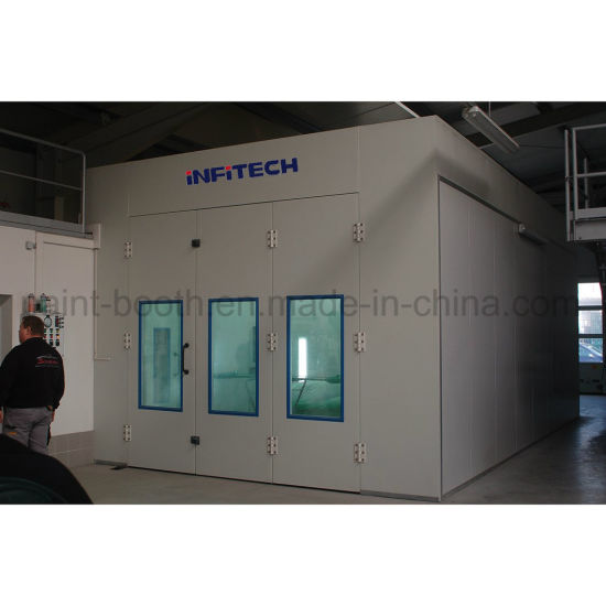 China Infitech Superior Auto Painting Oven Car Baking Oven For