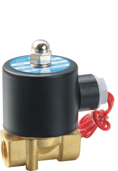 1 Brass Electric Solenoid Valve 12 VDC Normally Closed Water Diesel/…