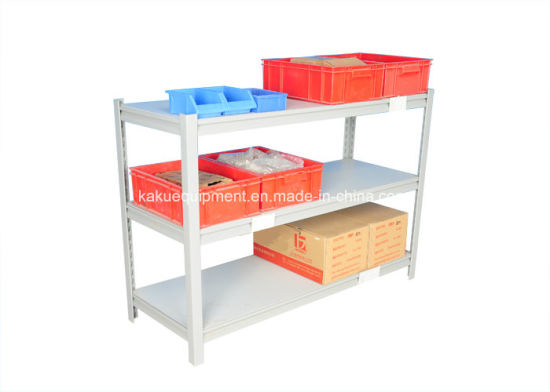 Industrial Warehouse Storage Metal Slotted Angle Light Duty Racking pictures & photos