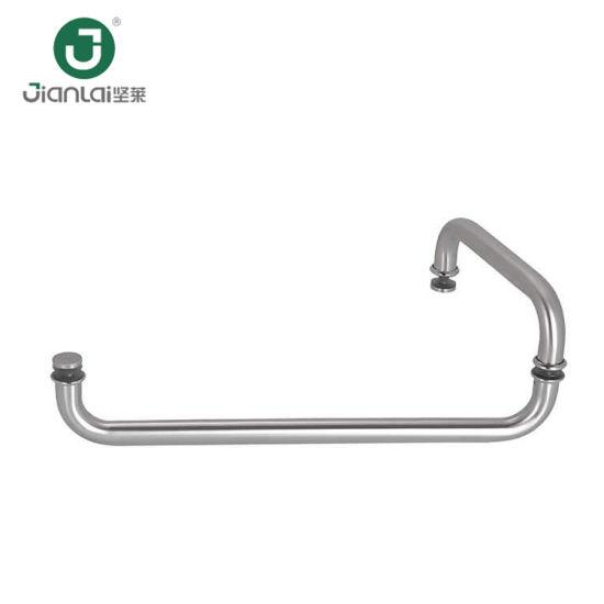 China Stainless Steel 304 Shower Glass Door Cabinet Door Pull Handle