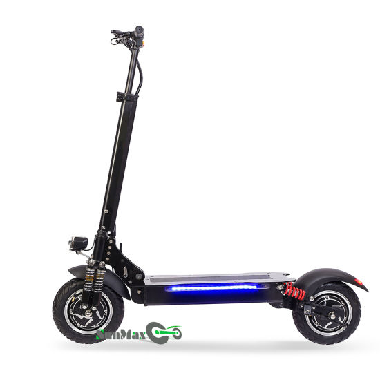 2018 New 48V 800W*2 Dual Motor Folding Electric Scooters