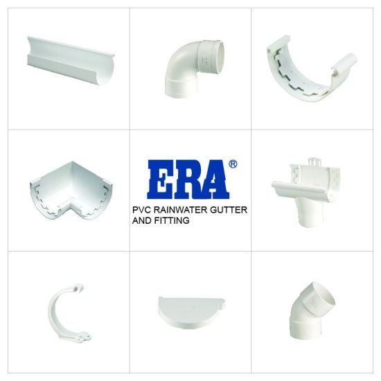China Upvc Kitemark Certificate Rain Gutter Pipe Fitting End Cap Left End Plug China Pvc End Cap End Cap
