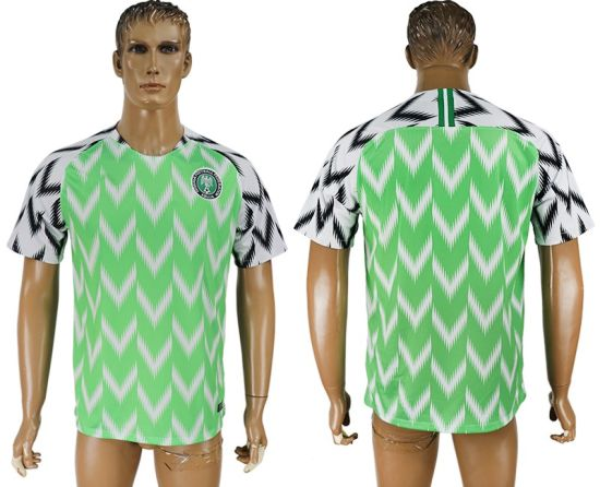 low priced d0068 f8880 [Hot Item] 2018 World Cup Football Nigeria National Soccer Jersey