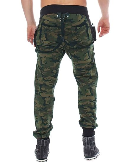 China Men S Jogger Pants Camo Cargo Trousers Camouflage Sports Twill