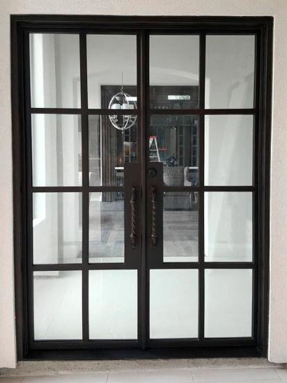 Hot Selling China Factory Supplier Wrought Iron Door With Latest