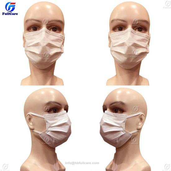 Surgeon Mask Nonwoven Mask Medical 3ply Face Doctor With Earloops Disposable Surgical