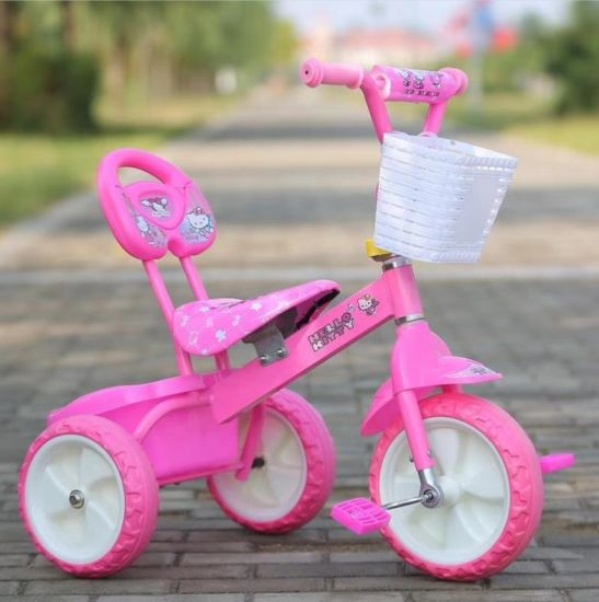 China Factory Wholesale 3 Wheels Pedal Baby Tricycle Children Ride on Toy Baby/Kids Tricycle