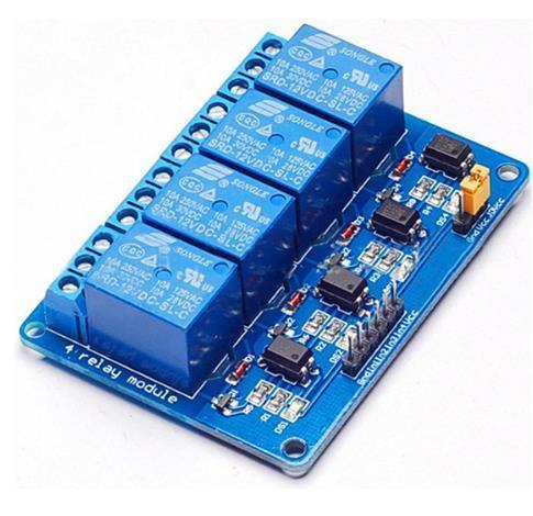 4 Channel 12V Relay Module 4channel Relay Expansion Board pictures & photos