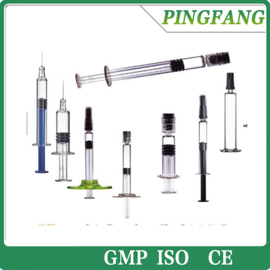 2018 1ml Luer Lock Cbd Oil Glass Syringe