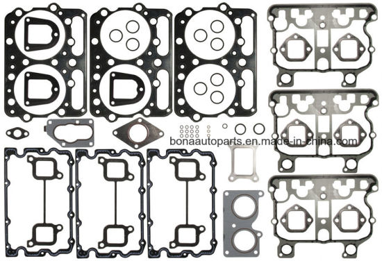 China 4089370 Cummins N14 Cylinder Head Gasket Set