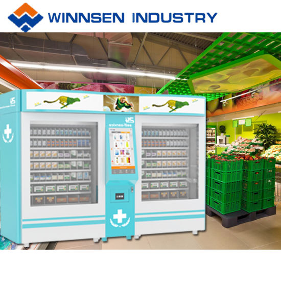 Different Sized Pharmacy Vending Kiosk with 22′′ Touch Screen Console pictures & photos