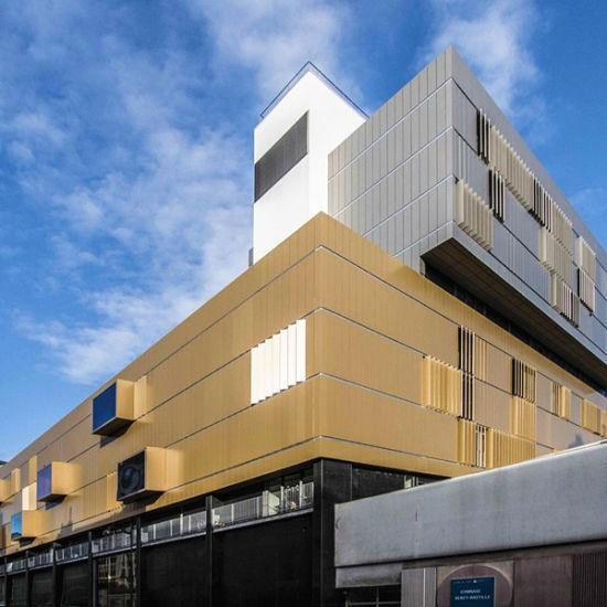 Waterproof Exterior Wall Cladding Building Materials Aluminium Composite Panel
