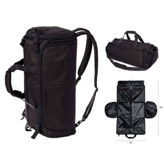 3 in 1 Travel Duffel Backpack Garment Bag - Travel Carry on Suit Bag