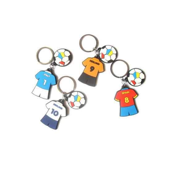 China High Quality Custom Cartoon Figure PVC Keychains
