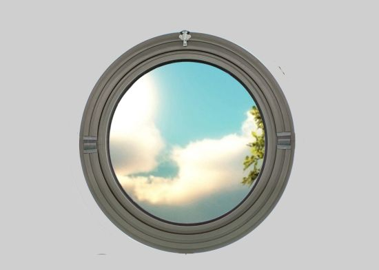 official photos ad085 45413 Double Glazing Aluminum Round Window|Aluminum Arch Window Made in China