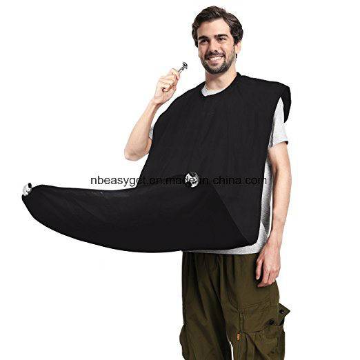 Beard Bib Beard Cape Shaving Catcher with 2 Suction Cups to Mirror for Men Shaving Grooming Trimming Hair Clippings Esg10539