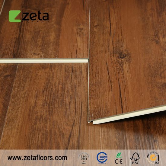 China Best Selling HPL WPC Cork Flooring Wood Grain Unilin Click - Best price on cork flooring