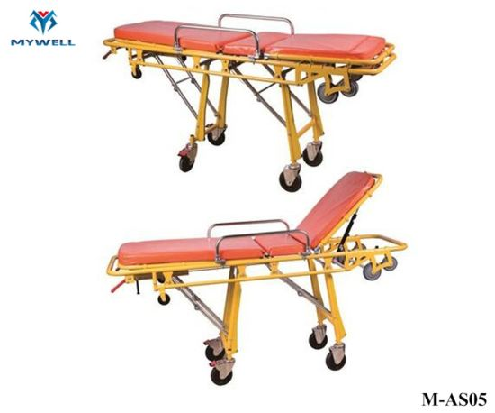 M-As05 Used Stretchers for Hydraulic Wheeled Ambulance Stretcher for Sale