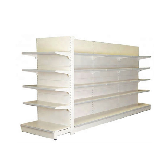 Factory Price Display Shelf Island Center Gondola Shelf Supermarket Shelves pictures & photos