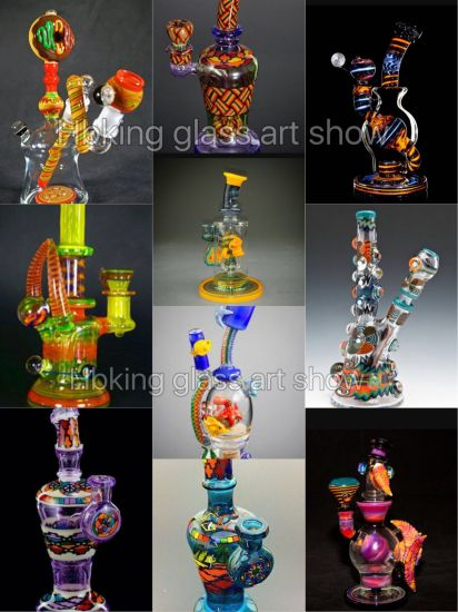 2017 Top Selling Glass Art Made in China Mix Color Glass Smoking Pipe pictures & photos