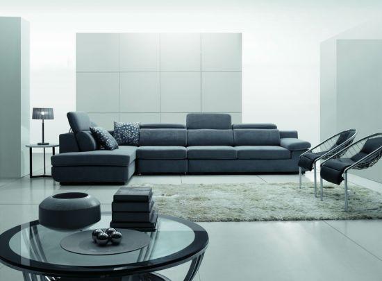 Hotel Furniture/Apartment Modern Fabric Sofa/Combination Sofa/Hotel Modern  Sectional Sofa/Living Room Modern Sofa/L Shape Sofa (GLMS-002)