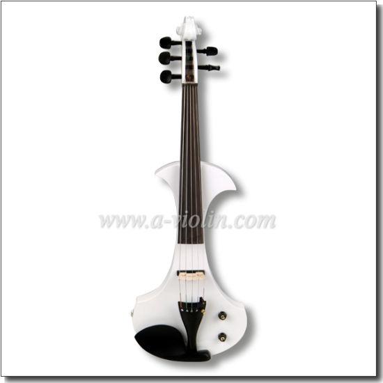 BOW Aileen VE501- BLACK 4//4 ELECTRIC Violin HEADPHONE VE501 FOAMED CASE