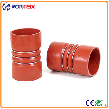 """80mm RED 2 3//4/"""" to 3 1//8/""""  Straight Reducer Silicone Turbo Hose Coupler 70mm"""