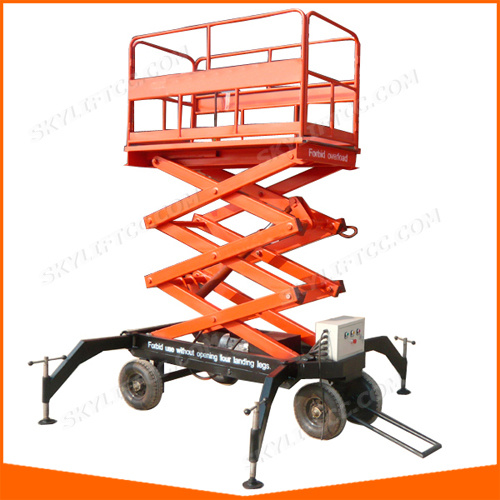 4-20m Electric Scissor Lift with Ce for Cargo Lifting (SJYL) pictures & photos