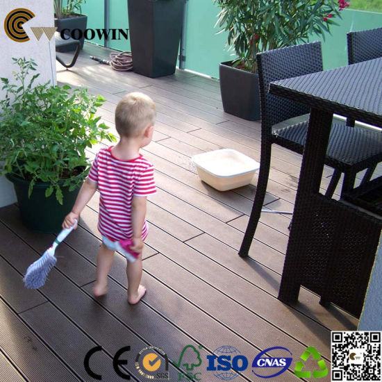 HDPE PE Wood Composite Flooring pictures & photos