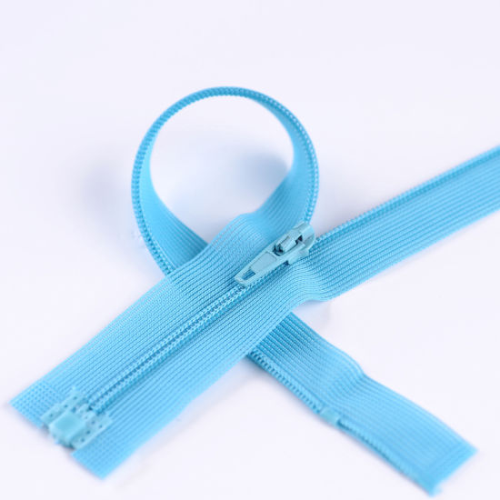 Hot Sales 3# Open-End Invisible Zipper for Garment