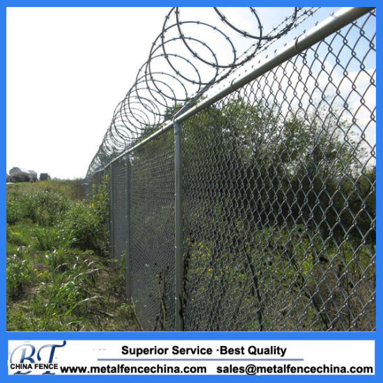 Wholesale Garden PVC Coated Used Chain Link Fencing