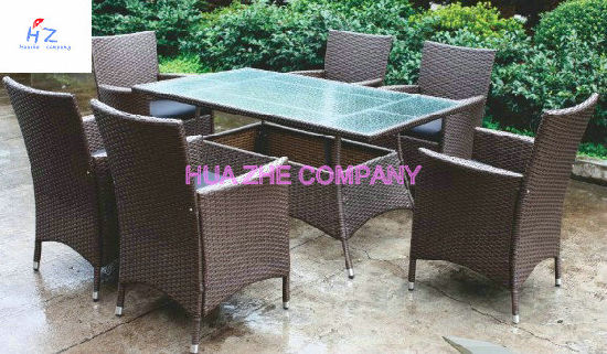 Outdoor Sectional Furniture PE Wicker Rattan Sofa Set Deck Couch pictures & photos