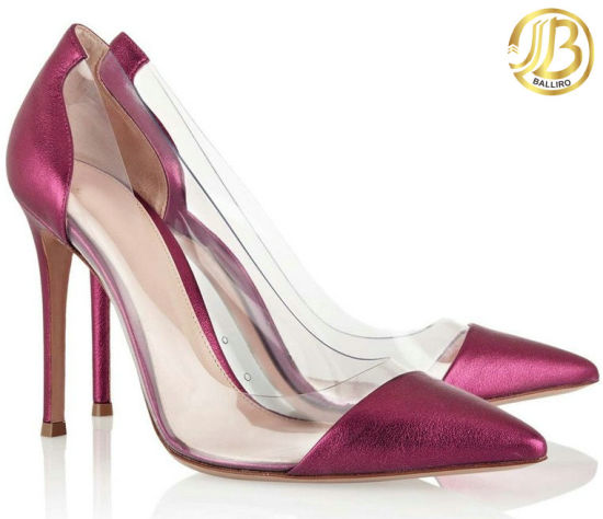 Fashion Lady High Heel Dress Shoes Pointed Toe (LSDN59)