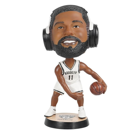 Creative New Arrive Promotional NBA Player Super Star Boston Celtics Kyrie Irving Bobble Head with Bluetooth Speaker