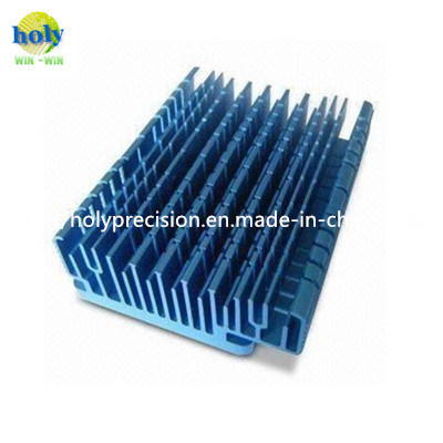 Heat Sink/Aluminium 7075/Machined Parts/Anodized with Machining