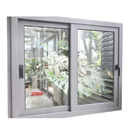 Wholesale Aluminum Sliding Window and Door Horizontal Sliding Window Screen Thickness of Sliding Window