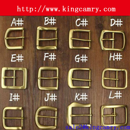 Solid Brass Buckle Belt Buckle Pin Buckle Fashion Buckle pictures & photos