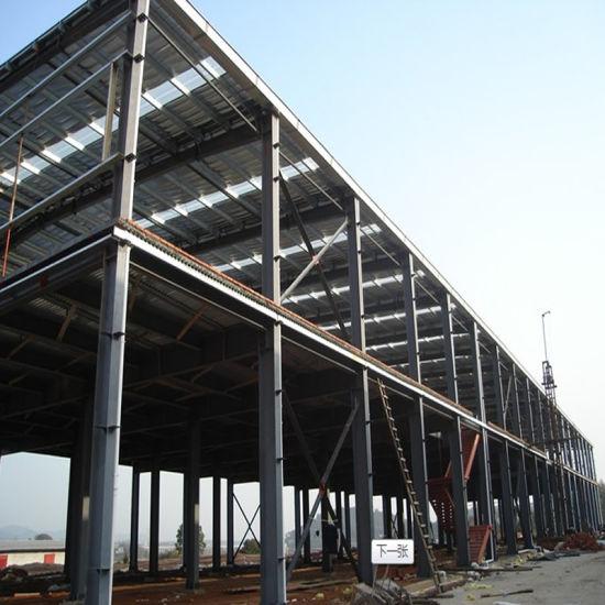 Professional Light Prefabricated Design Structural Steel Frame Workshop for Sale