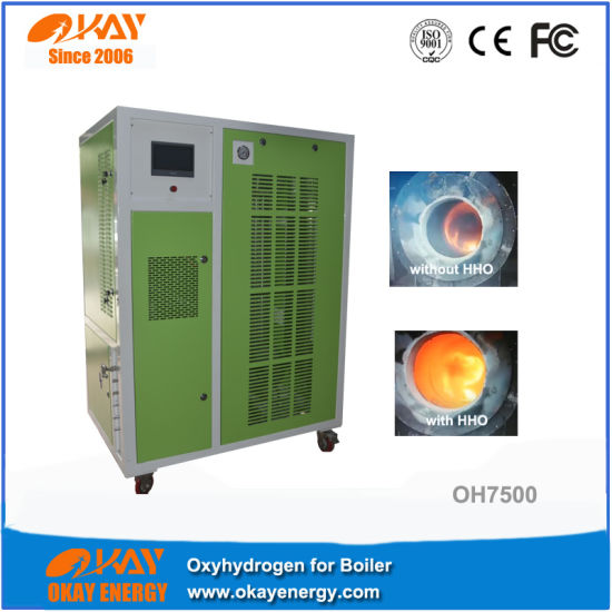 China Oxyhydrogen Gas Heating Boiler for Hot Water - China Hydrogen ...