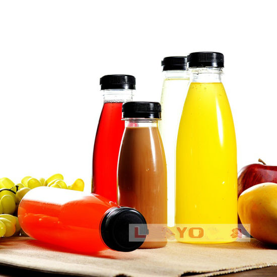 Pet Beverage Container / Plastic Fruit Juice Bottle /Drinking Water Glass Bottle pictures & photos