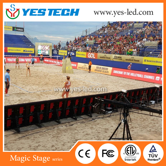 High Definition P5.9 Outdoor RGB Sport LED Display Panel pictures & photos