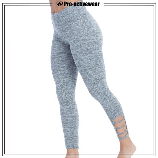 5dade6daaaa04 China Trendy Dry Fit Workout Pants Gym Leggings Women Mesh Yoga ...