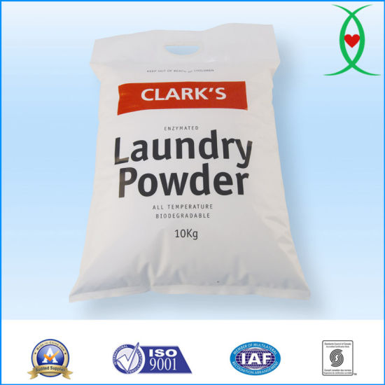 10kg Bulk Packing Powerful Spots Removal Household Cleaning Laundry Washing Detergent Powder