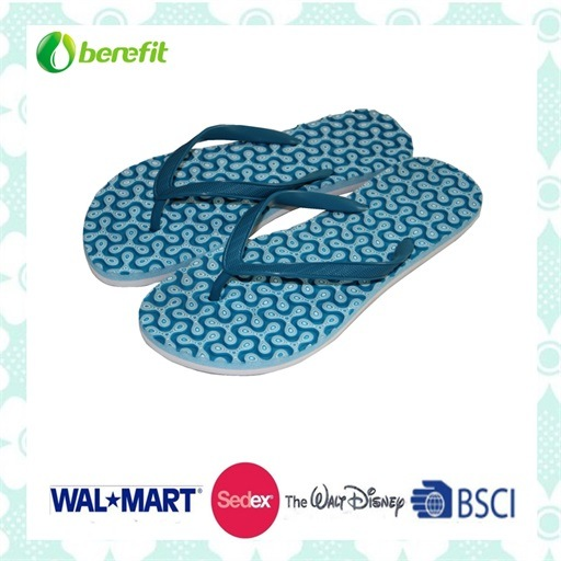 Simply Design PE Sole and PVC Straps Women's Slippers